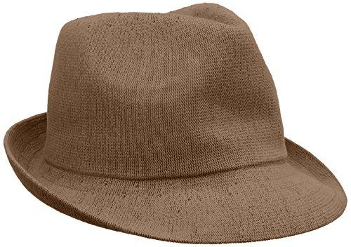 Kangol Fedora Hats (Kangol Men's Arnold-6813Bc, Tan, Large)