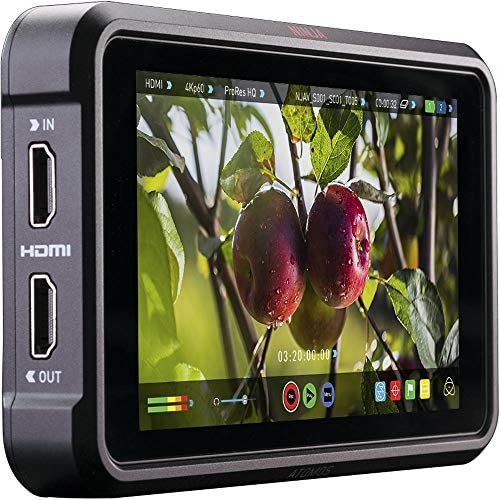 Atomos Ninja V 5″ 4K HDMI Recording Monitor with Deluxe Accessory Bundle – Includes: 2X Extended Life NP-F975 Batteries with Charger; Micro, Mini, Standard HDMI Cables; Action Grip Stabilizer & More 51jC 2BqjM5ML
