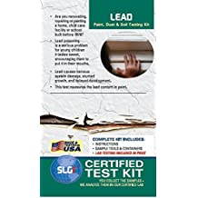 Lead Test Kit in Paint, Dust, or Soil 5PK (5 Bus. Days) Schneider Labs