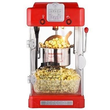 Great Northern Popcorn Machine Pop Pup 2-1/2oz Retro Style Popcorn Popper