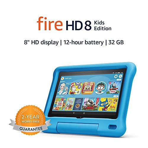 Fire-HD-8-Kids-Edition-tablet-8-HD-display-32-GB-Blue-Kid-Proof-Case