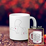 Personalised Coffee Mug With Sayings Long Distance Best Friend Gifts Relationships For