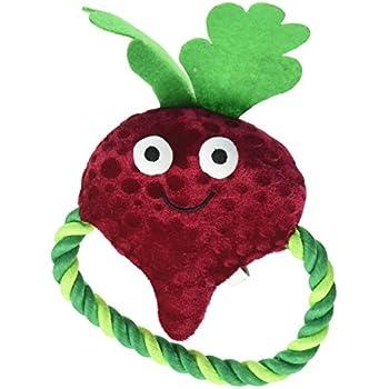 Amazon.com : Grriggles Happy Veggies Rope Tugs Dog Toys