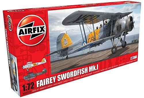Airfix Junkers Ju87B-2/R-2 Stuka Plastic Model Kit (125 Piece) -  Hornby, A04053A