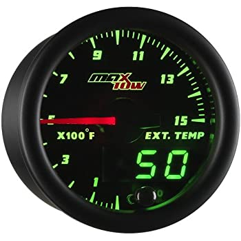 Diesel Engine Fast Resonse EGT Exhaust Gas Temp Probe /& Digital Pyrometer Kit