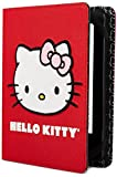 Hello Kitty Fur Face Cover - Red (Fits Kindle Paperwhite, Kindle & Kindle Touch)