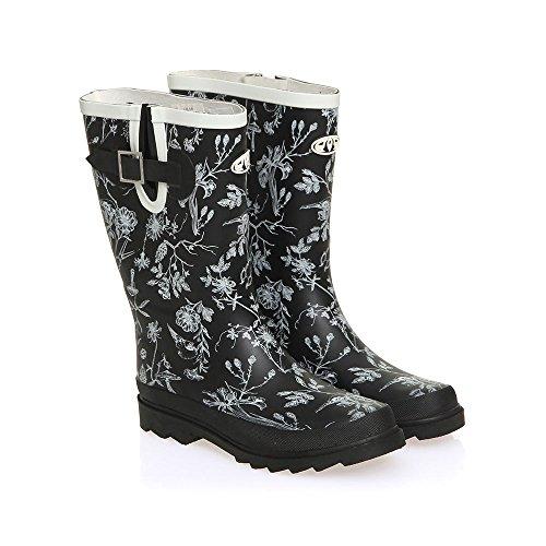 Animal Lolah Wellington Boots - Black UK 5