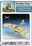 Aue Verlag Schreiber-Bogen Card Modelling Lockheed Lilienthal-Glider 1:24