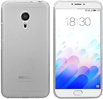 Tumundosmartphone Funda Gel TPU para MEIZU M3 Note Color Transparente: Amazon.es: Electrónica
