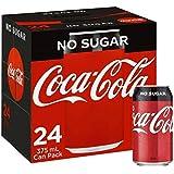 COKE ZERO CANS 24 X 375ML