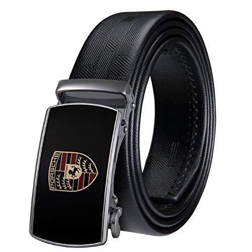 New Designer 110cm-160cm Men Belt Set Within Black Gift Box Genuine Leather Luxury Strap Belt For Men Wedding,PK0089-DB,120CM