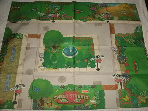 Fisher Price Sweet Streets Retired 2001 Dollhouse Play Mat #75422