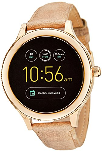 Fossil Gen 3 Smartwatch - Q Venture Sand Leather FTW6005 by Fossil (Image #1)