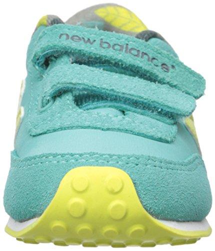 New BalanceKE410V1 Classic Infant - K - Ke410v1, Klassisch, Säugling - K Unisex-Kinder Aqua/Yellow