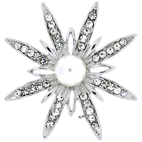 Starburst Flower Pin - 7