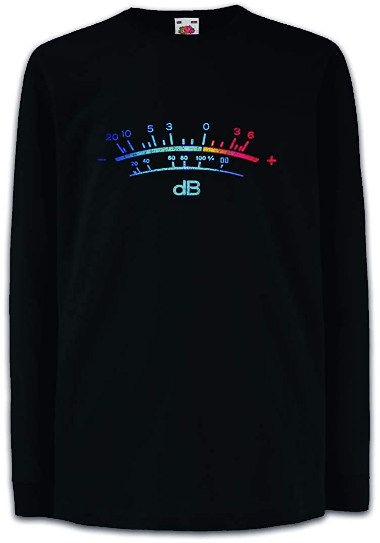 DB Meter II T-Shirt Decibel Music Retro Radio Record Vinyl Stereo Music Studio