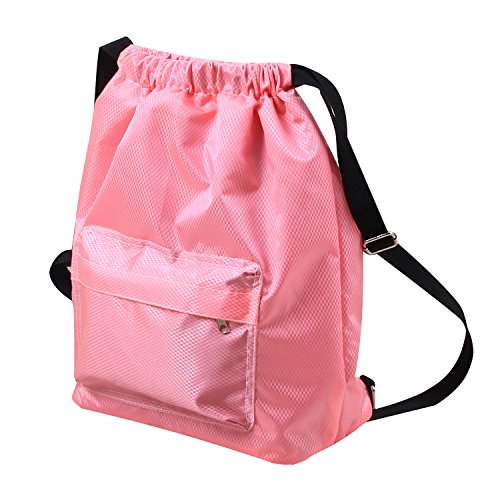a5ebd48f639f KIKIGOAL Dry Wet Separated Swimming Bag Portable Drawstring Backpack  Waterproof Gym Sports Pool Beach Gear Bag for Men Women Boys and Girls