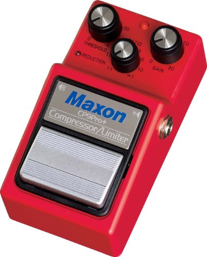Maxon CP-9 Pro Plus Compressor Guitar Effects Pedal by Maxon