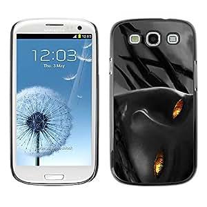 All Phone Most Case / Hard PC Metal piece Shell Slim Cover Protective Case Carcasa Funda Caso de protección para Samsung Galaxy S3 I9300 Flame Girl