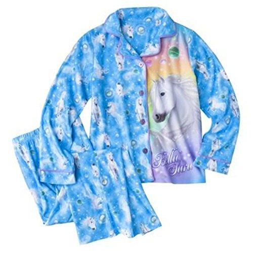 - Bella Sara Girl 2 PC Long Sleeve Pajama Set Size L 10