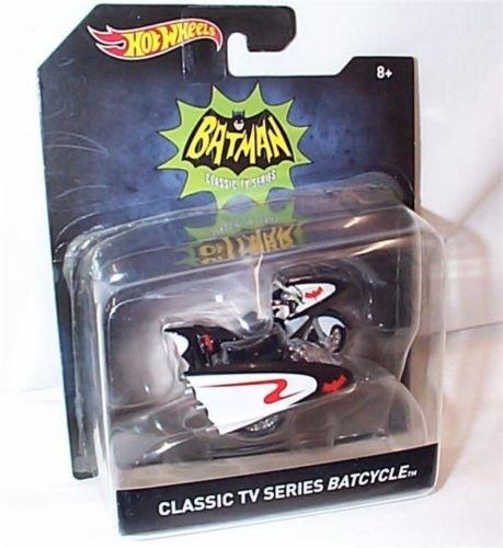 Hotwheels Batman Classic TV Series Batcycle Car 1.50 Scale Model by Hot Wheels
