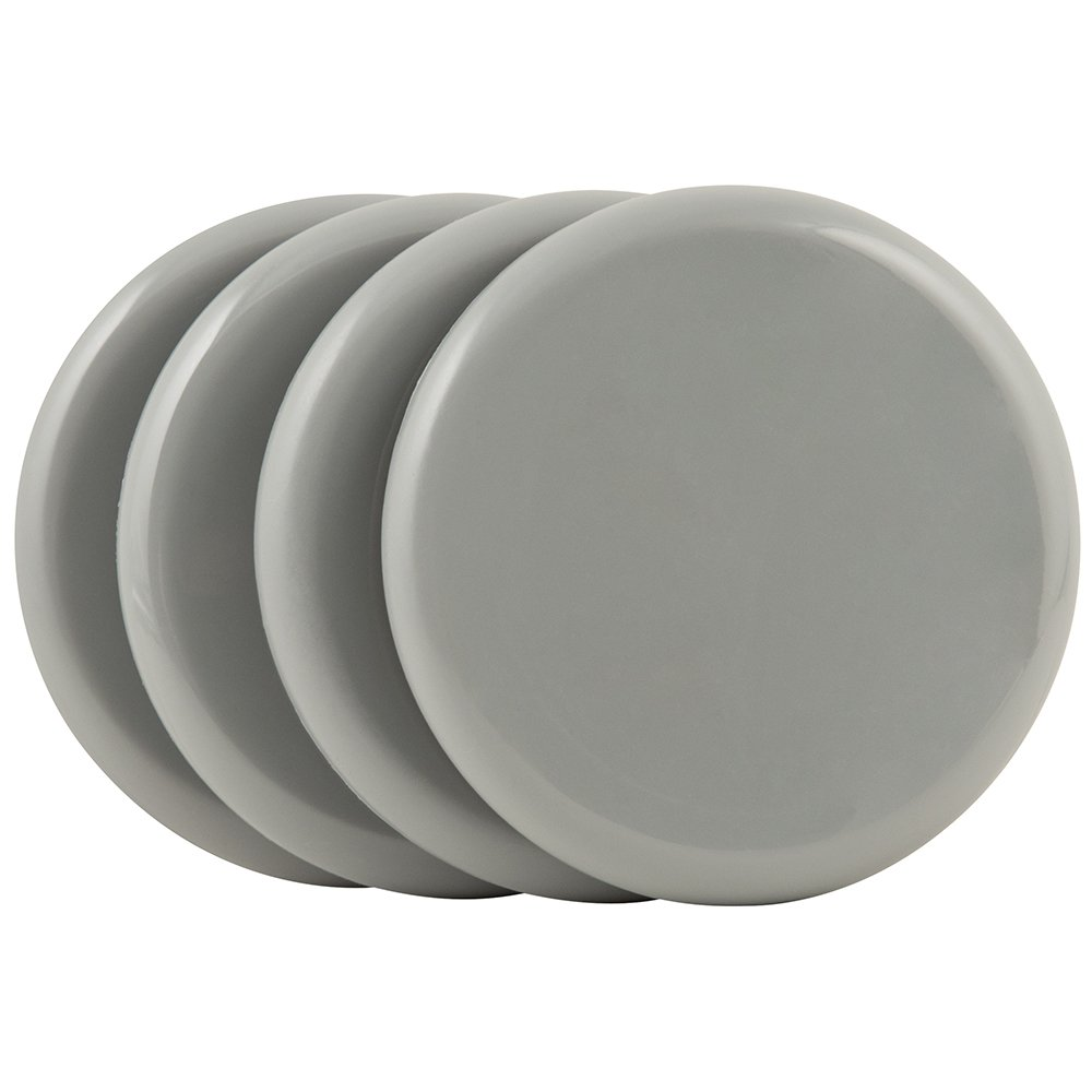 SuperSliders 4743395N Reusable Furniture Sliders for Carpet- Quickly and Easily Move Any Item, 3-1/2'' Gray (4 pack)