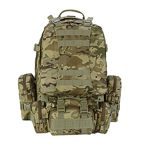 CVLIFE Outdoor 50L Military Rucksacks Tactical Backpack Assault Pack Combat Backpack Trekking Bag £¨CP£