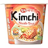 NongShim Kimchi Noodle Soup Cup, 2.6 Ounce (Pack of 6)
