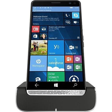 Amazon com: HP Elite X3 Windows 10 Mobile, 4GB, 64GB, Hand