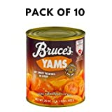 Bruce's Yams Cut Sweet Potatoes in Syrup, 29.0 OZ - Pack of 10