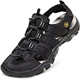 ATIKA Men's Outdoor Hiking Sandals, Closed Toe