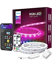 Govee Smart LED Light Strip,WiFi LED Strip Lights Works with Alexa and Google Assistant