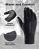 Letlar Winter Gloves TouchScreen Women Running Men Warm Outdoor Sports Gloves