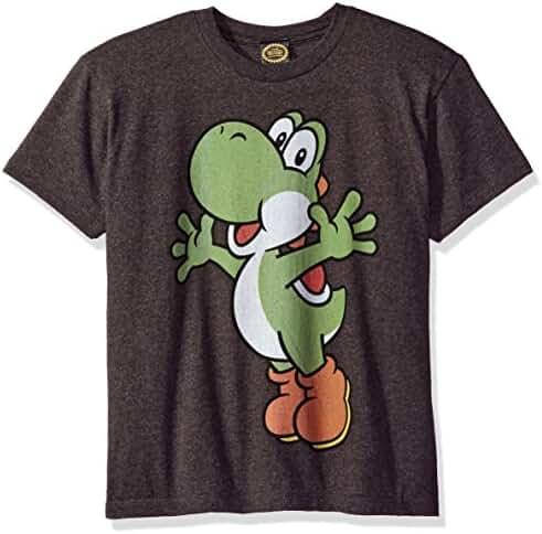 Nintendo Boys' Super Mario Yoshi Icon Graphic T-Shirt