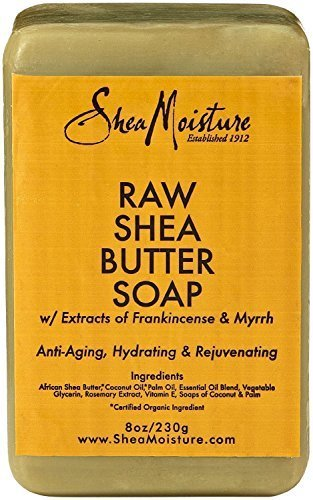 Shea Moisture Raw Butter Bar Soap, 8 Ounce