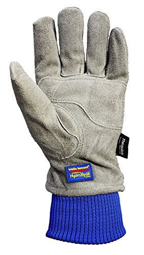 Wells Lamont 1196L Water Resistant Very Warm 100 g Thinsulate, Hydra Hyde, Men's Winter Work Gloves, Large, Saddletan by Wells Lamont (Image #5)