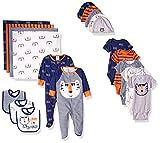 GERBER Baby Boys' 19-Piece Essentials Gift Set, Little Athlete, Newborn