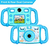 Drograce KD300 Kids Camera Dual Selfie Camera 1080P HD Video Recorder Digital Action