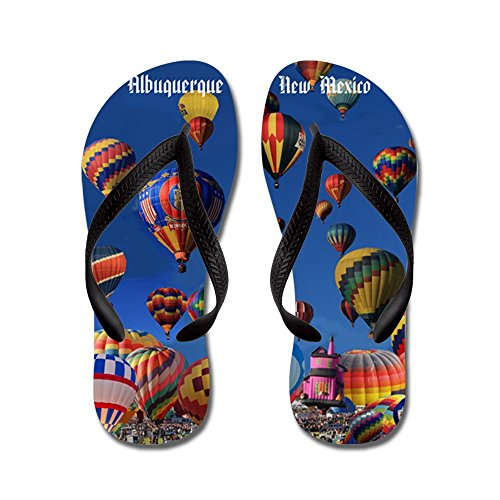 CafePress Albuquerque - Flip Flops, Funny Thong Sandals, Beach Sandals Black