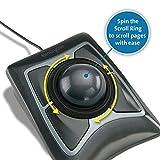 Kensington Expert Trackball Mouse (K64325), Black