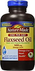 Nature Made Organic Flaxseed Oil 1,400 m...