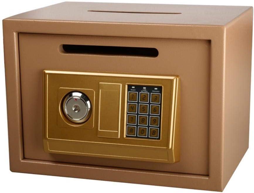 Seguridad De seguridad digital electrónica Caja de carga frontal segura cámara acorazada del efectivo Drop Lock: residencial, comercial, joyas, dinero en efectivo objetos de valor hogar seguro (Color:: Amazon.es: Bricolaje y herramientas