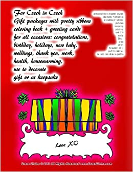 Amazon for czech in czech gift packages with pretty ribbons amazon for czech in czech gift packages with pretty ribbons coloring book greeting cards for all occasions congratulations birthday holidays m4hsunfo