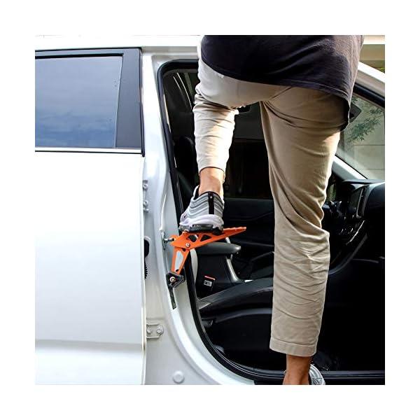 51jC7JtO3NL PHATRIP Auto Türstufe Klappbare Autotür Pedal Klappleiter für Autos Unkompliziert aufs Dach Zu Kommen Universal Doorstep…