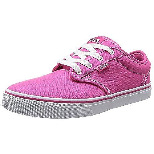 chic VANS Atwood Canvas Women s Sneakers Pink Magenta Shoes 0K2U8IX ... 9ea9079e28