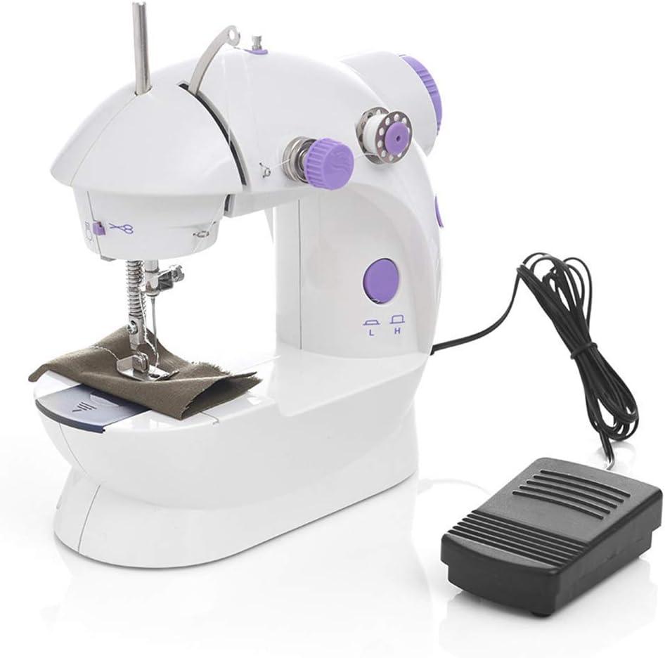 LIIYANN 1 unids/Mini máquina de Coser eléctrica casa Manual ...