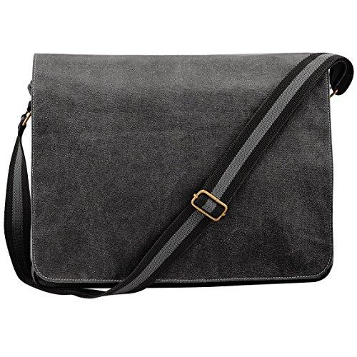 Bag Despatch Black Canvas Vintage Quadra pqwtUnZyE