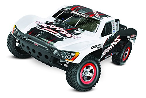 Traxxas 58076-24 Slash Vxl 2WD 1/10 Brushless Short Course Truck with Tqi 2.4GHz Radio, White