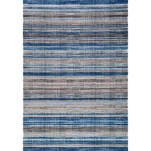Gray And Blue Rug Amazon Com