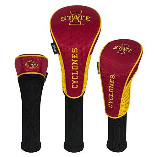 Iowa Golf Headcover - Team Effort Iowa State Cyclones Set of Three Headcovers